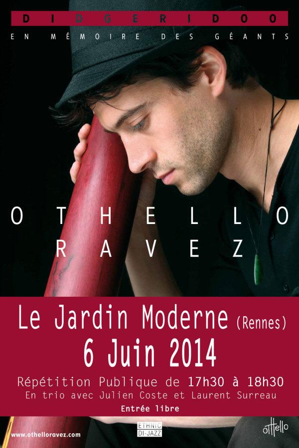 jardin moderne Othello Ravez Trio